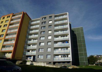 Regenerace bytového domu Kralupy nad Vltavou