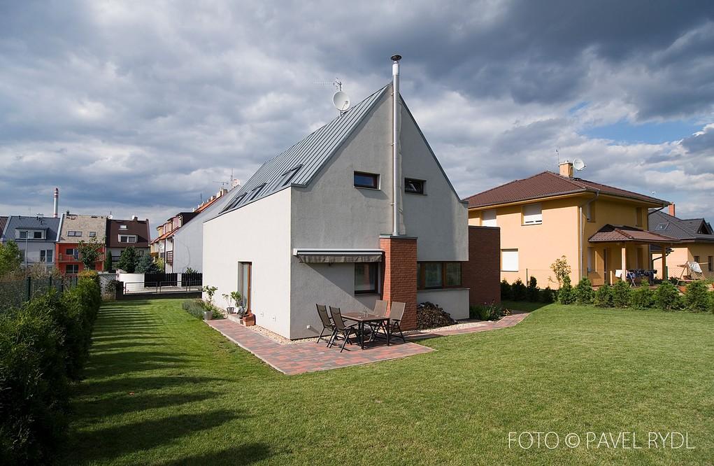 Rodinný dům Praha 10 – Štěrboholy